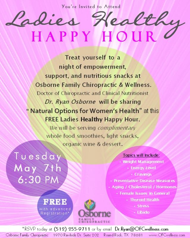 Ladies Healthy Happy Hour