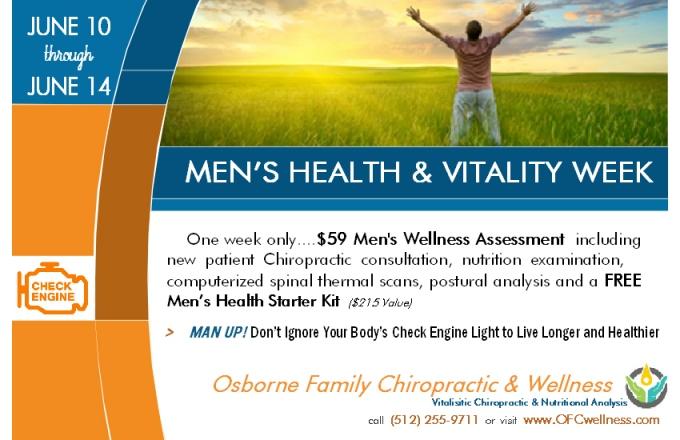 Men's Vitality week OFC Wellness